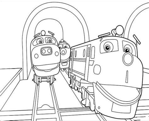 chuggington coloring train pages chuggington pictures coloring sheets free printables