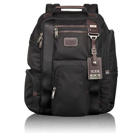 Tumi Kingsville Deluxe Brief Pack 222382nvy2 tumi alpha bravo kingsville deluxe brief pack mch rewards