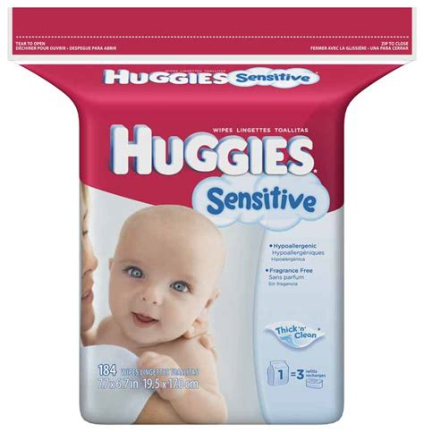 Baby And Wipes 60pcs 3pack huggies sensitive baby wipes refill 184 count pack pack of 3 health personal care