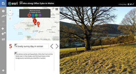 arcgis layout bearbeiten story map tour lernprogramm story maps