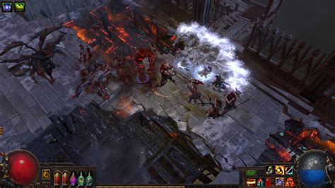 exle of falling path of exile the fall of oriath pc release date revealed