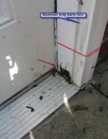 reparing wood rot on exterior door and frame suggestions