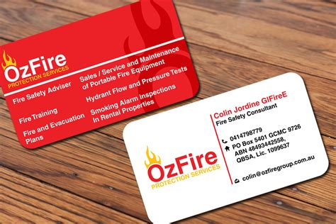 business card design by mackleon design 2796423