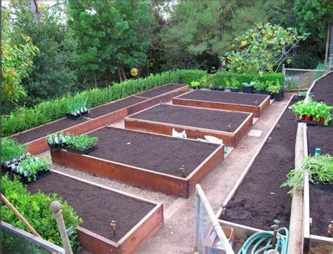 Raised Bed Garden Layout 25 Best Ideas About Vegetable Garden Layouts On Pinterest