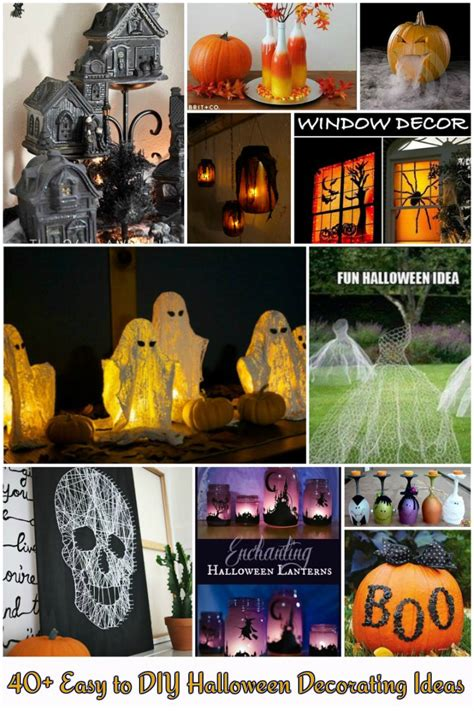 40 easy to make diy halloween decor ideas diy crafts 40 easy diy halloween decorating ideas fab art diy