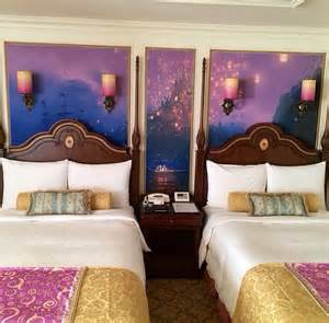 gorgeous tangled themed guest rooms at tokyo disneyland hotel