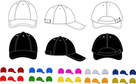 Cap Free Vector Download 305 Free Vector For Commercial Use Format Ai Eps Cdr Svg Vector Cap Design Template