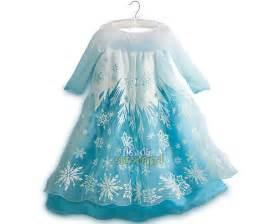 vestido elsa frozen original disney store tienda el madrigal
