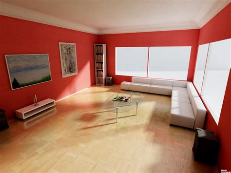 color moods for rooms red paint wall white ceiling room colors and moods in livng room with l shape white sofa on