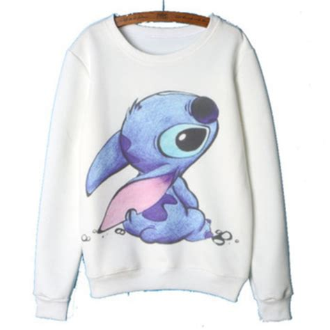 Sweater Rajut Lilo Stitch sweater sweatshirt lilo and stitch wheretoget