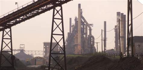 steel announces plans  close  coke plant