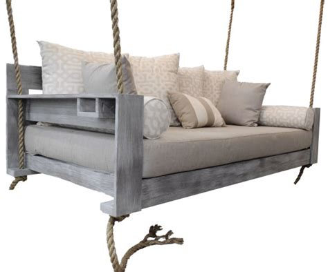 twin bed swing the avalon bed swing twin size hanging porch by fouroakdesigns