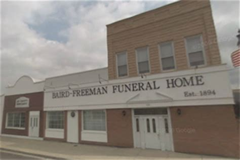 baird freeman funeral home portland indiana in