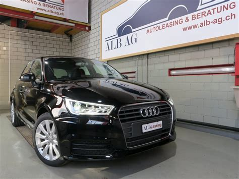 Leasing Audi A1 by Audi A1 Sportback Leasing Promotion Alb Leasing