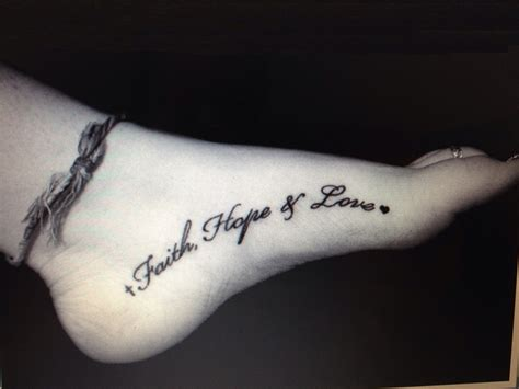 hope faith love tattoo tattoos designs ideas and meaning tattoos for you