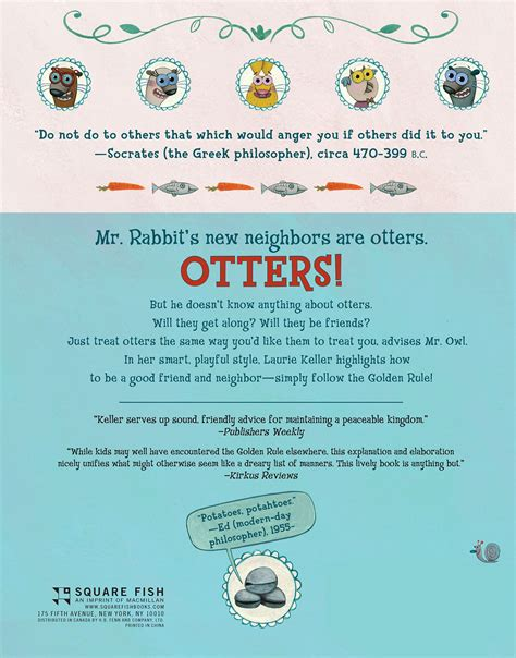 do unto otters a 0312581408 do unto otters a book about manners amazon