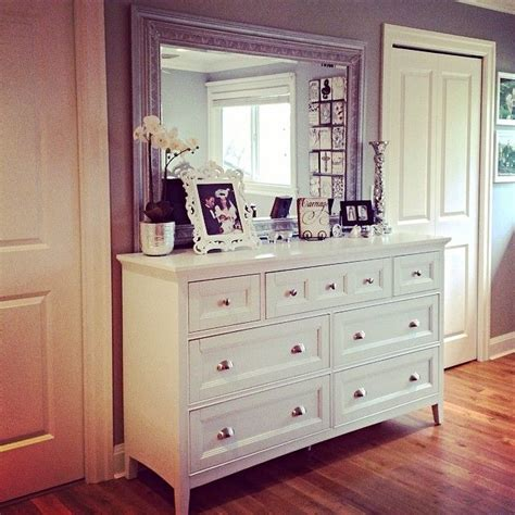 mirror over dresser ideas dresser with mismatched mirror for the home
