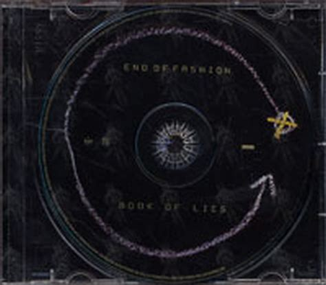 the end of lies books end of fashion book of lies album cd records