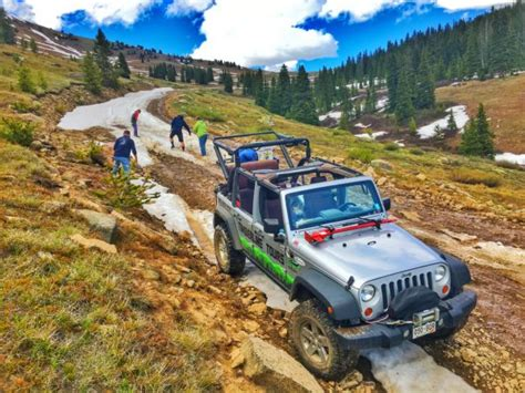 jeep trails near colorado springs jeeping near denver 4x4 colorado timberline tours