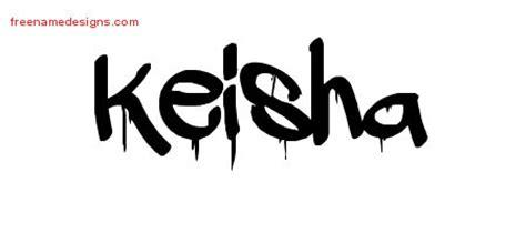 tattoo name keisha graffiti name tattoo designs keisha free lettering free