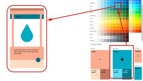 küche color design tool が提唱する マテリアルデザイン の普及をフォローするカラーツールが登場 gigazine