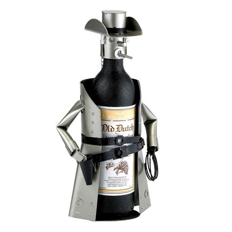 wine holder metal cowboy wine bottle holder the green head