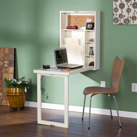 Incroyable Table Rabattable Murale #6: Bureau-escamotable-bureau-blanc-rabattable.jpg
