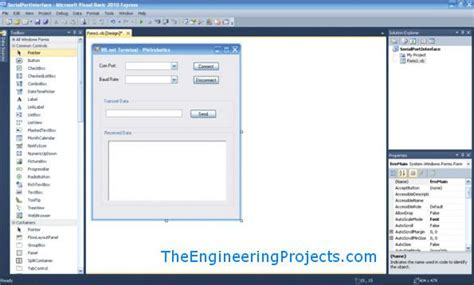 tutorial visual basic studio 2010 pdf microsoft visual basic 2010 com port tutorial the