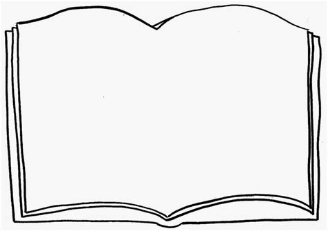 best free open book coloring page pages clip art image