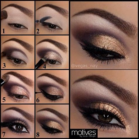 eyeshadow tutorial without brushes 1 apply eye base w motives quot shadow quot brush draw in