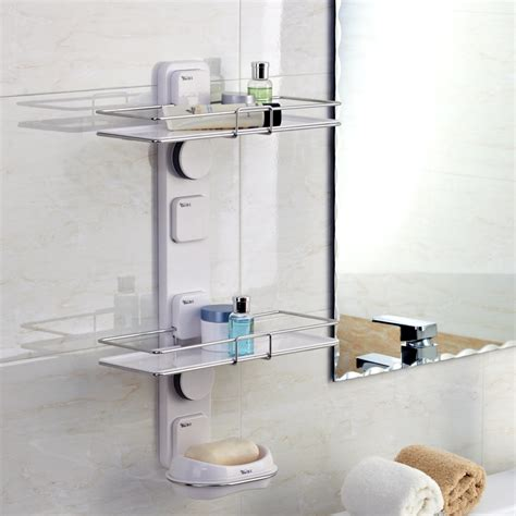 suction shelves bathroom suction cup bathroom shelf storage rack corner bracket