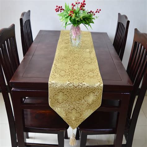 120 inch table runner 120 inches damask decoration