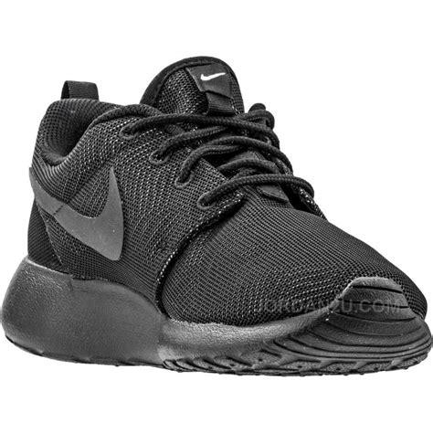 Nike One Black Black nike roshe one moire womens black black white price