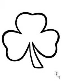 shamrock coloring pages shamrock pictures to print az coloring pages