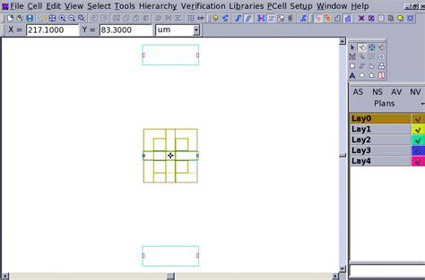 mim capacitor layout tutorial parameterized mim capacitor layout