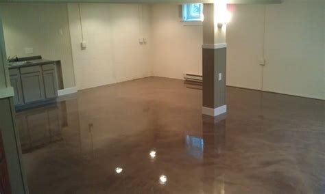 how to apply basement concrete floor paint flooring ideas floor design trends