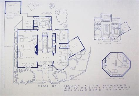 beverly hillbillies mansion floor plan floor plan munsters house 1313 mockingbird lane