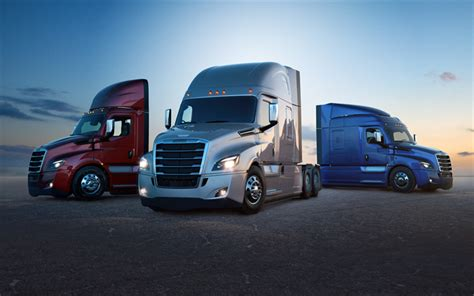 Best Car Wallpaper 2017 Trailers by Wallpapers Freightliner Cascadia 2018 4k New
