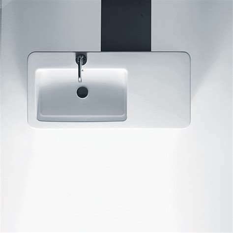 large rectangular bathroom sink 35 quot large rectangular wall mounted vessel ceramic bathroom sink contemporary