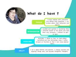 Self Introduction Powerpoint Quantumgaming Co Personal Introduction Powerpoint Template