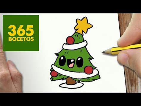 imagenes de la navidad kawaii como dibujar un 193 rbol de navidad kawaii