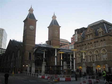 liverpool street station london architecture  architect