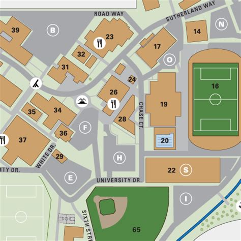 biola university interactive campus map