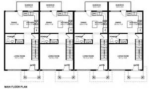 multi family floor plans free economical multi family dwelling house plan hunters