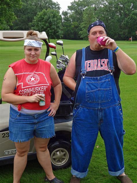 Wedding Crashers Hillbilly White Trash by Our Blessed Nest White Trash Golfing Mud 2014