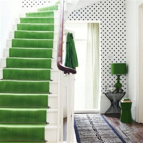green wallpaper hallway hallway ideas to steal floor and wallpaper ideas red