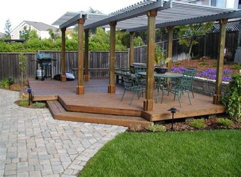 Patio Construction Ideas by Landscaping Ideas San Jose Landscaping Network