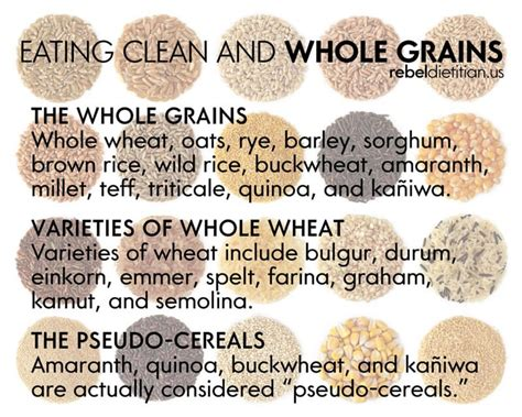 5 whole grain foods exles of whole grain foods pictures to pin on