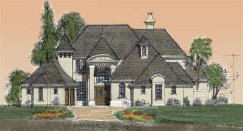 French Country Style Home by Small Luxury Homes Starter House Plans
