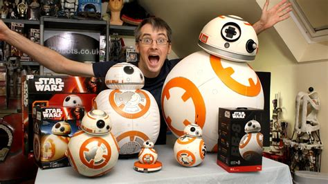 Toys Bb8 xrobots wars bb 8 big unboxing review